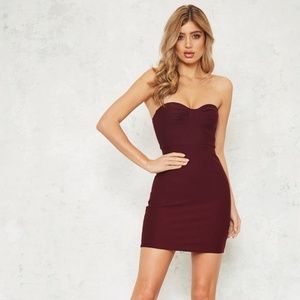 Hello Molly All American Dress in Plum